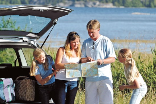 excursie in familie