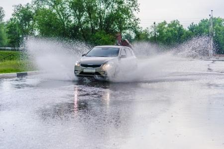 Avoid Driving Through Standing Water Bellingham